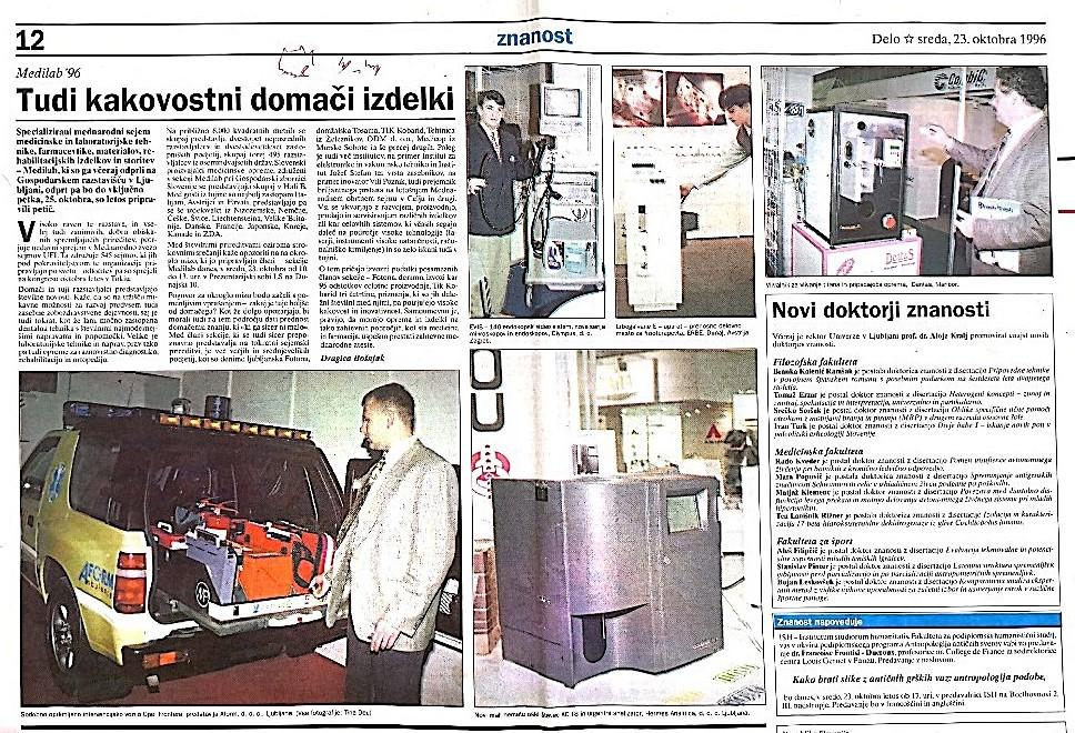 Medilab Ljubljana 1996